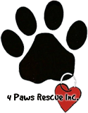 4 Paws Rescue Inc.
